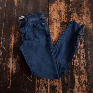Madewell Skinny Skinny Angle Zip Jeans